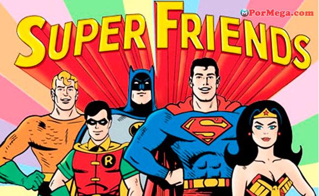 Los Super Amigos [480p][Mega][1976][8 Temporadas]
